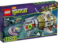 LEGO Teenage Mutant Ninja Turtles - Turtle Sub Undersea Chase (79121)