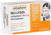 ratiopharm IBU LYSIN 684 mg Filmtabletten (50 Stk.)