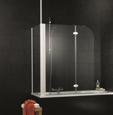Schulte Badewannenfaltwand 2-tlg mit Seitenwand (D3380)