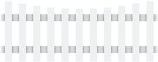 Brügmann TraumGarten Longlife Cara Zaunelement 180 x 70/61 cm