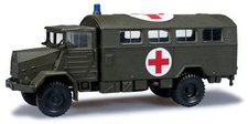 "Herpa MAN 630 Koffer-LKW  ""Rotes Kreuz "" (744577)"