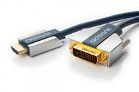 Clicktronic 70540 Advanced HDMI / DVI-Adapterkabel (1,0m)