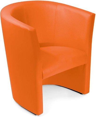 Möbel-Eins Cocktailsessel Charly orange