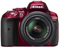Nikon D5300 Kit 18-55 mm (rot)
