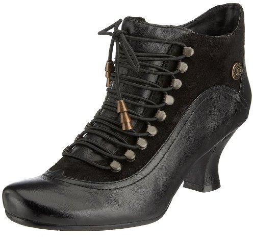 Hush Puppies Vivianna Multi Leather Black