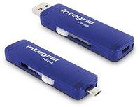 Integral Slide USB 3.0 OTG Flash Drive