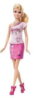 Barbie Bügelbild Designer Barbie (BDB32)