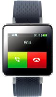 Simvalley MOBILE Handy-Uhr (PW-415.steel)