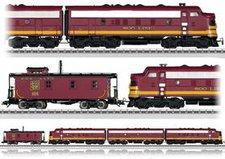 Märklin Dieselelektrische Lokomotive mit Caboose (39620)