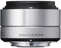 Sigma 30mm f2.8 DN (silber) [Sony Nex]