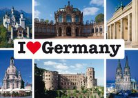 Schmidt Spiele I love Germany (1000 Teile)