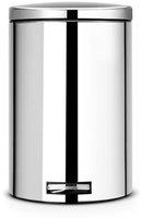 Brabantia Treteimer mit Bioeinsatz Brilliant Steel (20 L)