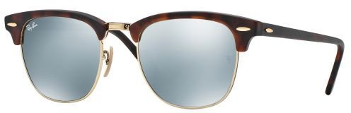 Ray Ban Clubmaster RB3016 114530 (sand havana-gold/silver mirrored)
