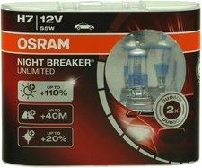 Osram Night Breaker Unlimited H7 Duo-Box