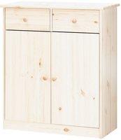 Steens Furniture Ltd Mario 027-01/13 Highboard whitewash 2 Schubladen 2 Türen