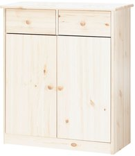 Steens Furniture Ltd Mario 027-01/13 Highboard whitewash 2 Schubladen 2 Türen