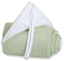 Babybay Nestchen Tobi Original grün/weiß
