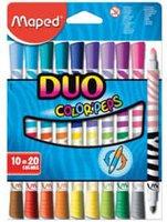 maped Color'Peps Duo Fasermaler 10er Kartonetui