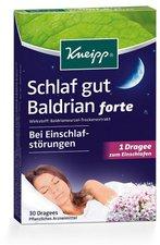 Kneipp Schlaf gut Baldrian forte überzogene Tabletten (30 Stk.)