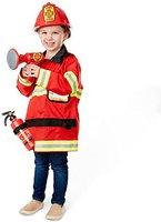 Melissa & Doug Kinderkostüm Feuerwehrmann