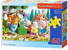 Castorland Drei kleine Schweinchen (60 Teile)
