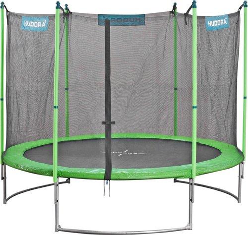 hudora family trampolin mit sicherheitsnetz 250 cm g nstig kaufen. Black Bedroom Furniture Sets. Home Design Ideas