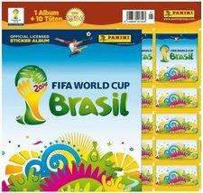 Panini Sticker WM 2014 Brazil - Starterset (Album und 4 Tüten)