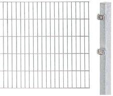 GAH Metall-Zaun-Anbauset Doppelstabmatte BxH: 2 x 1 m