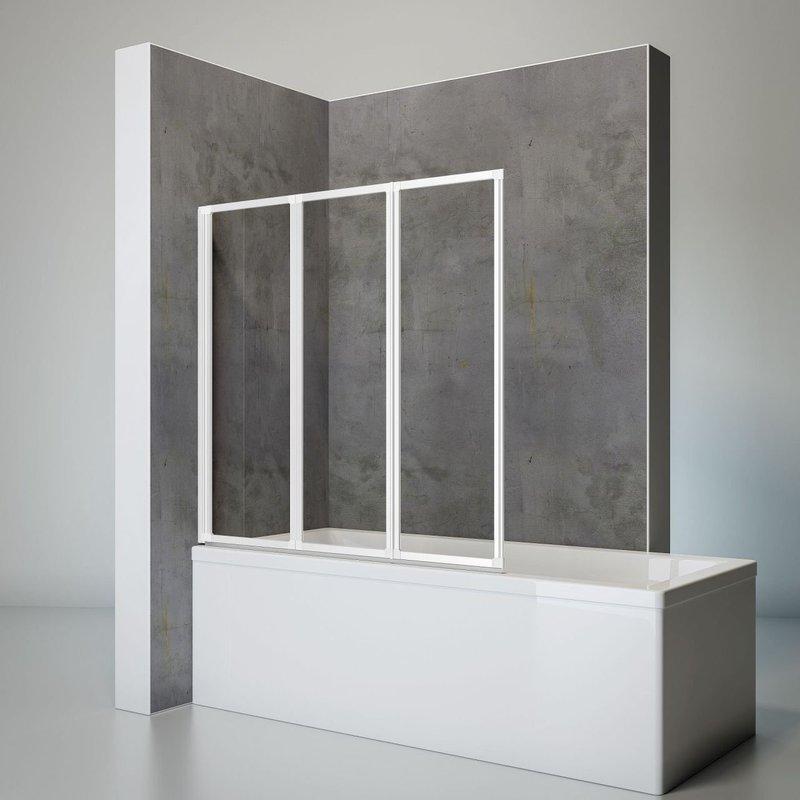 schulte badewannenfaltwand 3 teilig preisvergleich ab 139 00. Black Bedroom Furniture Sets. Home Design Ideas