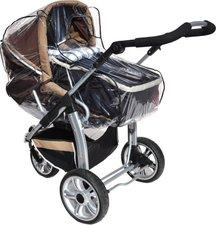 ASMi Regenhaube für moderne Kinderwagen mit Umsetzer