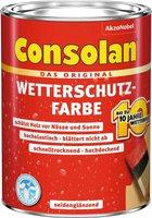 Consolan Wetterschutz-Farbe 2,5 l rot