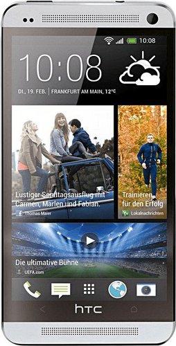 HTC One 32GB Glacial Silver ohne Vertrag