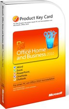 Microsoft Office 2010 Home and Business (DE) (Win) (PKC)