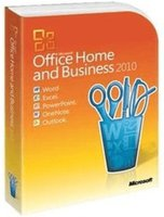 Microsoft MS Office 2010 Home and Business (DE) (Win) (Box)