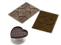Silikomart Schokokeks-Ausstecher Set Cookie Love