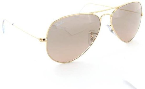 a6ce1a9ee1a084 Ray Ban Aviator Large Metal RB3025 001 3E (gold rose gold gradient mirror