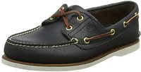 Timberland Classic 2-Eye Boat Shoe - Navy Smooth 74036