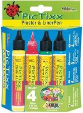 C. Kreul Hobby Line PicTixx-Set Pluster & LinerPen