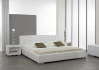 Meise Möbel Polsterbett Isa weiß 100x200 cm