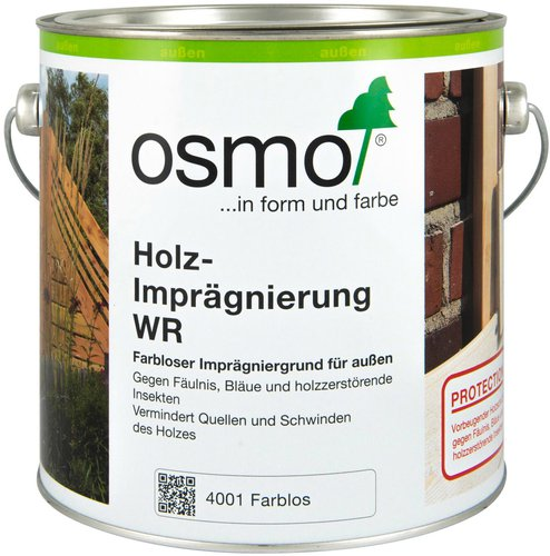 osmo holz impr gnierung wr farblos 2 5 l g nstig online kaufen. Black Bedroom Furniture Sets. Home Design Ideas