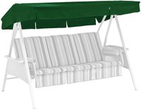 Kettler Ersatzdach für Avantgarde 3-Sitzer 207 x 146 cm dunkelgrün