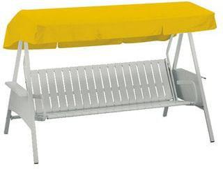 kettler ersatzdach f r avantgarde 3 sitzer 207 x 146 cm gelb preisvergleich ab 69 90. Black Bedroom Furniture Sets. Home Design Ideas