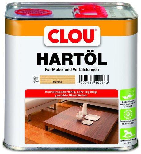 Clou Hartöl 2,5 l farblos