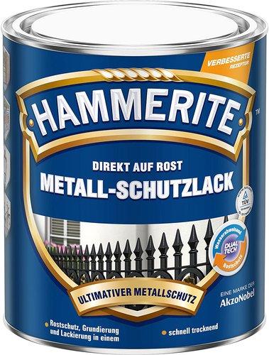 Hammerite Metall-Schutzlack glänzend braun 2,5 Liter