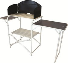 Highlander Aluminium Kitchen Stand with Folding Table