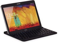 LEICKE Samsung Galaxy Schutzhülle mit integrierter Bluetooth Tastatur (Note 10.1 Edition 2014 und TabPRO 10.1)