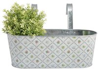 Esschert Balkonkasten mit Haken Botanicae Design