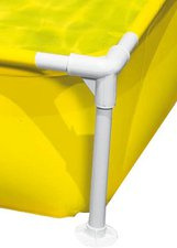 Intex Pools Frame Kinderpool Mini 122 x 122 x 30 cm