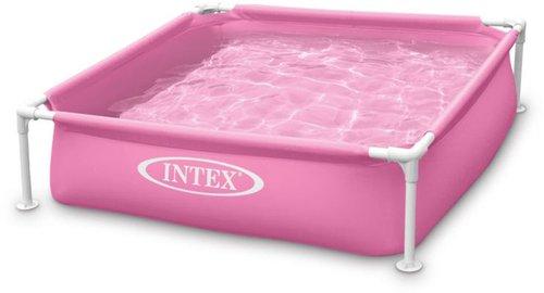 Intex Pools Frame Kinderpool Mini 122 x 122 x 30 cm gelb (57172)