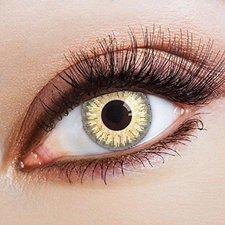 Aricona FUN-Kontaktlinse Gelb (2 Stk.)